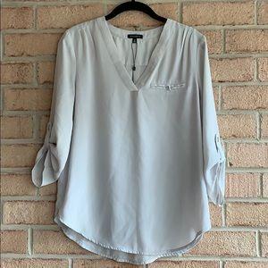 Light grey blouse size s/p